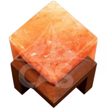 Himalayan Salt Penny Cube Lamp