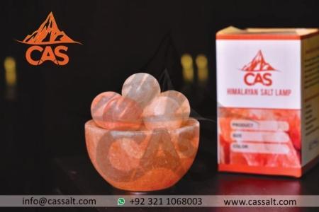Himalayan Salt Bowl with Balls