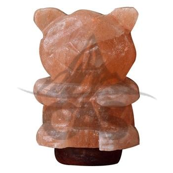 Himalayan Salt Bear Shape Lamp
