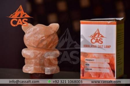 Himalayan Salt Bear Shape Lamp